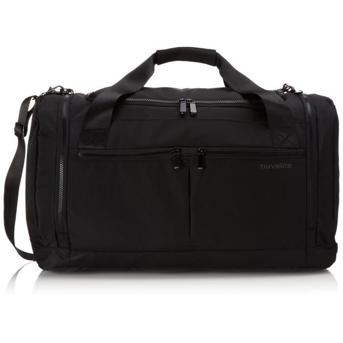 60 Travelite Cm 58 Bag Flow Valise Noir black Black Size Travel L Liters In 8rfq8