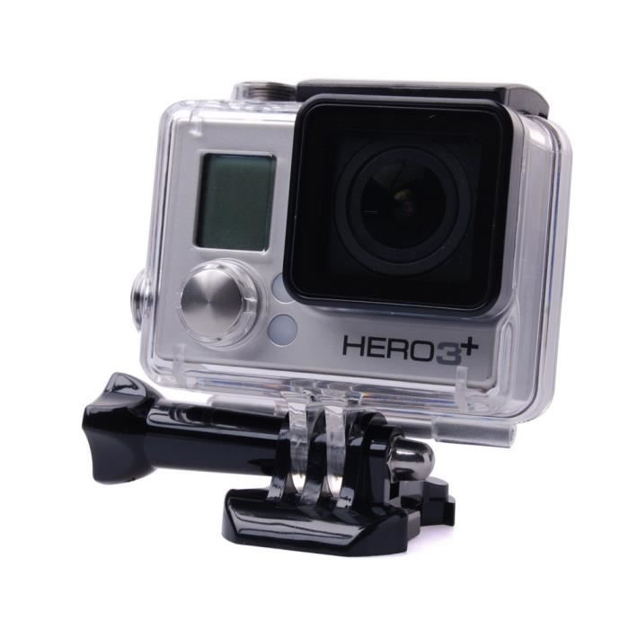 boitier etanche gopro hero 3 achat vente pas cher. Black Bedroom Furniture Sets. Home Design Ideas