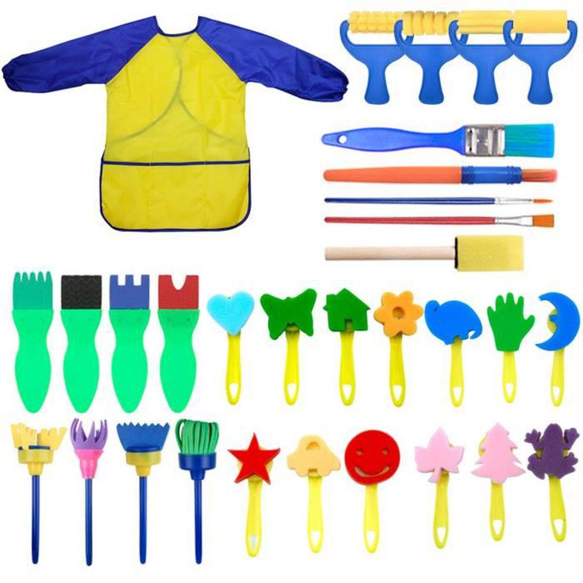 Lavable et r/éutilisable Lot de 3 /éponges anti-poussi/ère pour enfant UNWSTYU