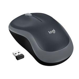 SOURIS Logitech souris sans fil optique - M185 Gris