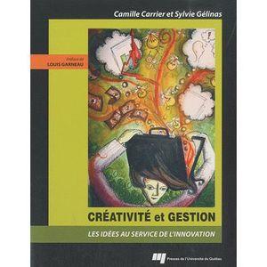 LIVRE GESTION Créativité et gestion