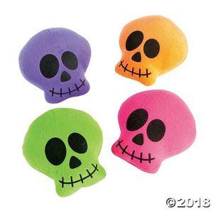 PELUCHE Peluche lumineux crânes (paquet de 4) 1OQCQN