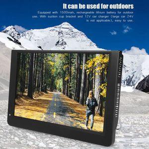 Téléviseur LED Télévision numérique, LEADSTAR 1080P Portable Mini