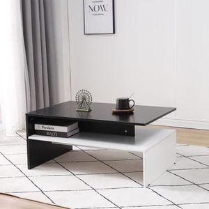 TABLE BASSE LUXS Nova Design Table Basse Table de Salon Rectan