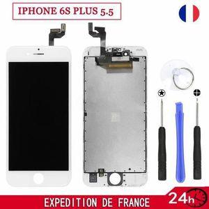 PIÈCE TÉLÉPHONE CO ECRAN LCD POUR IPHONE 6S PLUS 5.5 SUR CHASSIS +