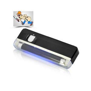Lampe Torche 2en1 UV Lumiere Noire detecteur Faux Billets LED Neon Fausse Monnaie