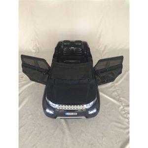 VOITURE ELECTRIQUE ENFANT Range Rover HSE Sport noire, voiture électrique en