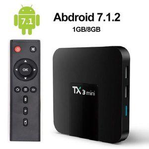 BOX MULTIMEDIA TX3 MINI TV Box multimédia Android 7.1 1GB+8GB