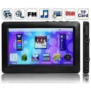 LECTEUR MP4 Lecteur MP3-MP4-MP5 Ecran Tactile Full HD 8 Go B39