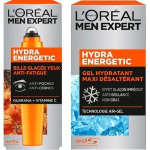 HYDRATANT VISAGE L'ORÉAL PARIS Men Expert Hydra Energetic - Lot Soi
