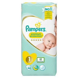 COUCHE LOT DE 24 - PAMPERS Premium Protection New Baby -