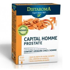 CONFORT URINAIRE Capital Homme Prostate - 120 capsules