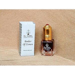 EAU DE PARFUM EL NABIL 5ml Amber of Yemen 100% huile