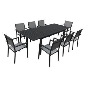 Salon de jardin extensible