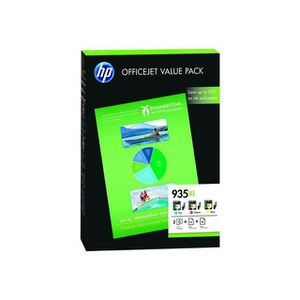 CARTOUCHE IMPRIMANTE Pack économique HP 935XL Office - 75 feuilles/A4/2