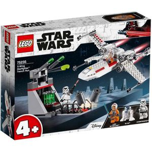 ASSEMBLAGE CONSTRUCTION LEGO® 4+ Star Wars™ 75235 - Chasseur stellaire X-W