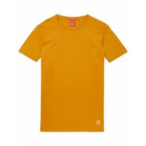 T-SHIRT Basic homme t-shirt orange Scotch & Soda