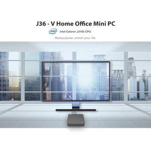 UNITÉ CENTRALE  Mini PC office-J36-V UnitÉ Centrale-4 GB RAM +64 G