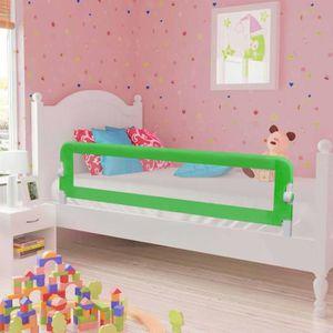 BARRIÈRE DE LIT BÉBÉ Barrière de sécurité de lit enfant Gris 120x42 cm