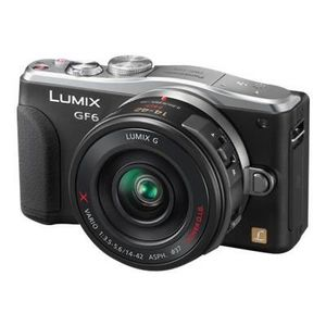 APPAREIL PHOTO RÉFLEX Panasonic LUMIX DMC-GF6 (Noir)