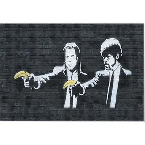 AFFICHE - POSTER Panorama® Poster Graffiti Banksy Pulp Fiction 30 x