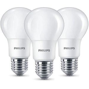 AMPOULE - LED PHILIPS Lot 3  Ampoules LED standard E27 - 8 W équ