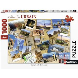 PUZZLE RAVENSBURGER Puzzle N 1000 p - Monuments du monde