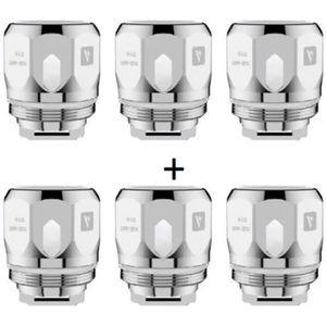 PIÈCE E-CIGARETTE Pack de 6 résistances GT CCELL Ceramic 0.5 Ohm (NR