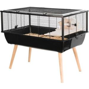 CAGE Cage Neo Nigha Petits Rongeurs Noir