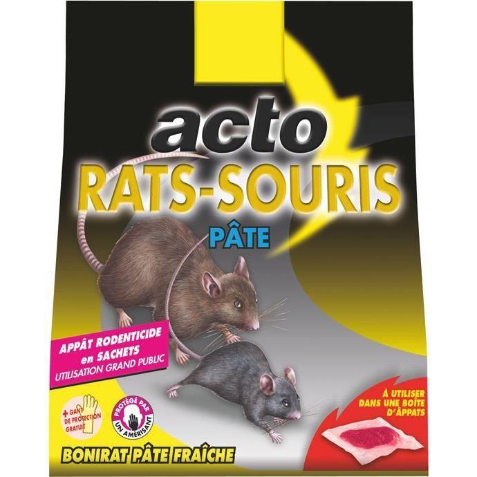 Acto pate rats souris 150g