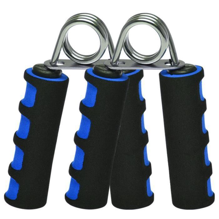 DAMILY® Pince Poignée Musculation Exerciseur de doigt Exercer la force des doigts-bleu