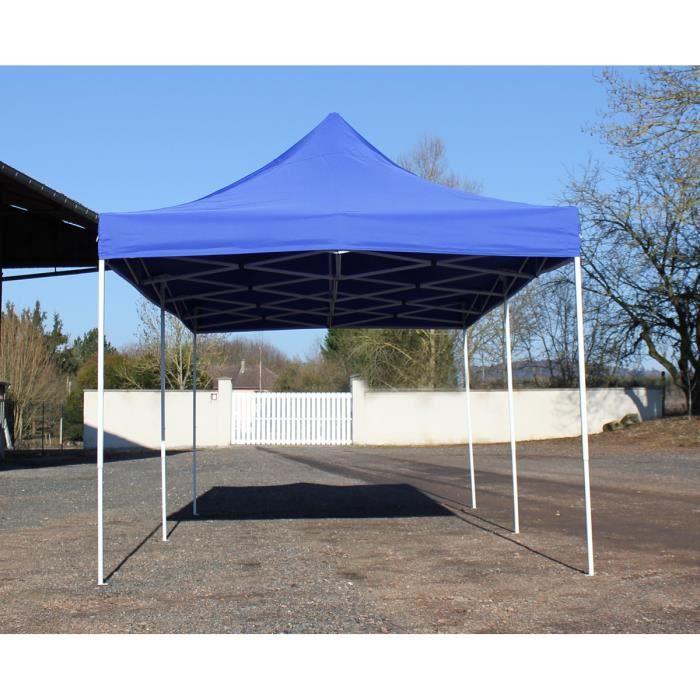 Barnum Pliant 3x6m Bleu - Tente Pliante Etanche