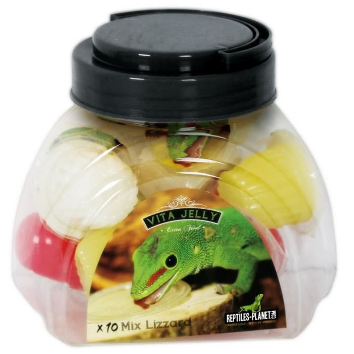Nourriture lézards Vita Jelly Mix Lizard 10 Pièces REPTILES-PLANET