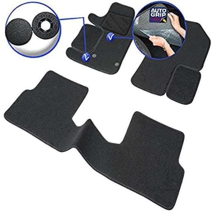 tapis de voiture - sur mesure pour modus (2004-2012) - 3 pièces - tapis de sol antidérapant pour automobile - moquette classic