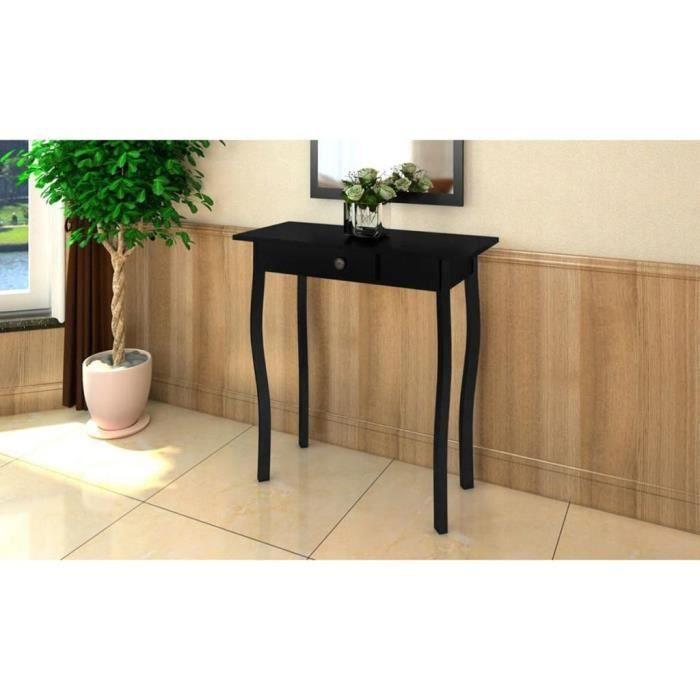 RELAX*8438Luxueux - Table Console décor - Armoire console Bureau table de maquillage - Console Scandinave - Table d'appoint Table de