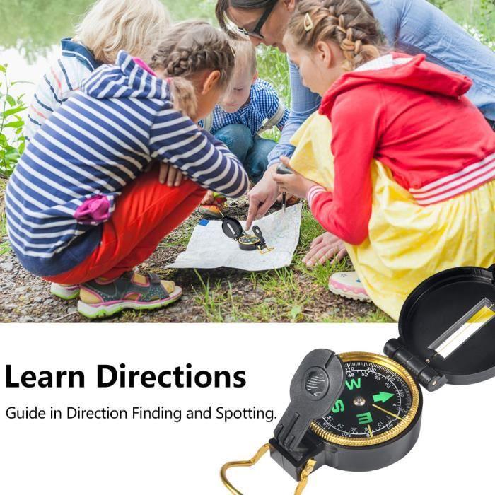 Zerodis ensemble de jumelles 6pcs jumelles d'exploration en plein air mis cadeau éducatif pour jeunes enfants