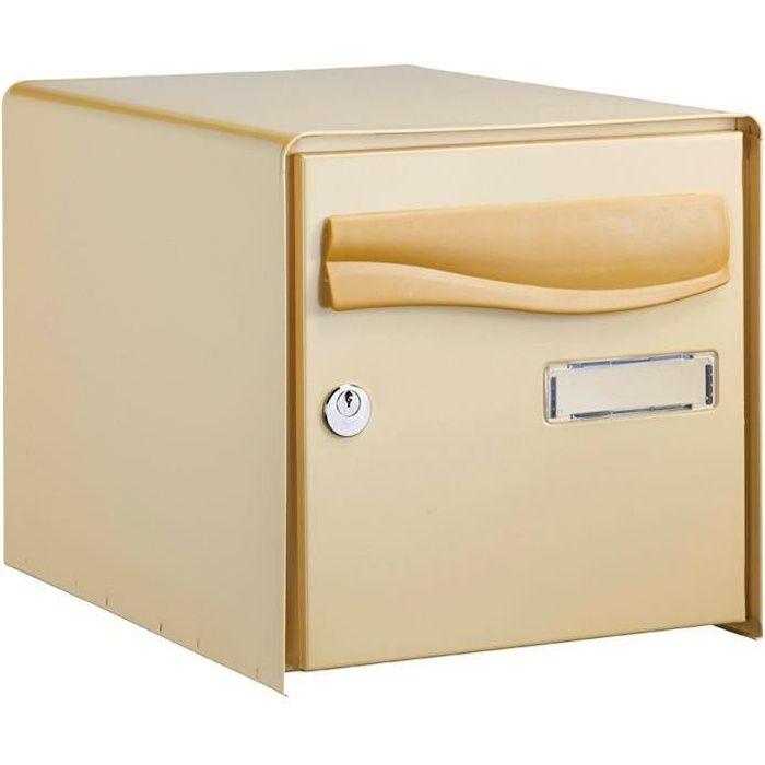 DECAYEUX Boîte aux lettres PTT - double face - beige