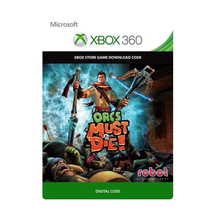 Orcs Must Die! Jeu Xbox 360 à télécharger