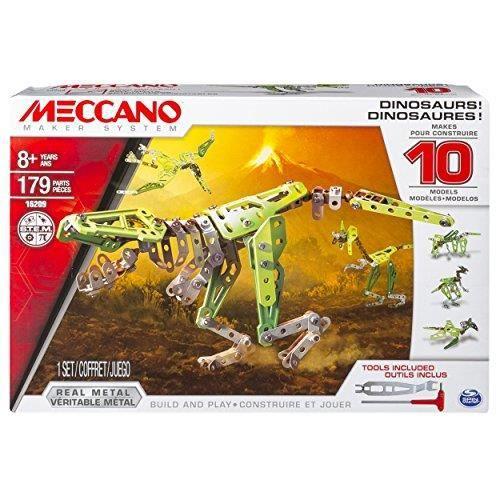 Dinosaures - Meccano - 10 modèles - Jeu de construction