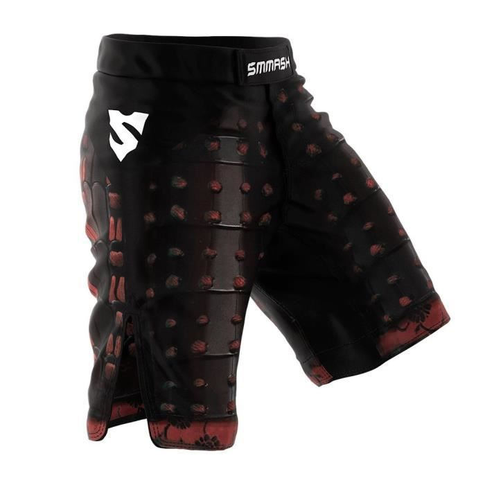 Smmash Shorts Samurai Martial Arts Mma Bjj Ufc Boxe 3PLC6O Taille-M