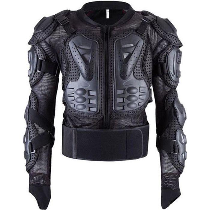 Armure de moto unisexe veste de protection complète du corps colonne vertébrale vêtements anti-chute homme femme