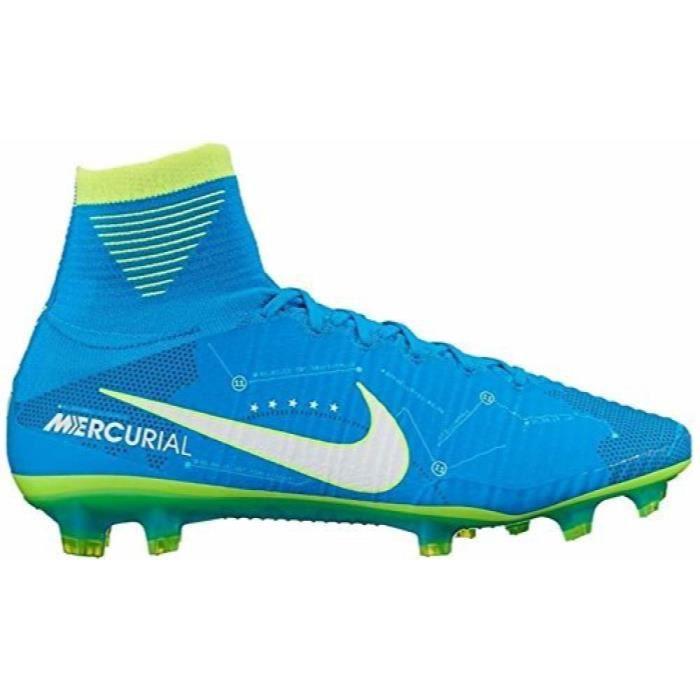 Chaussures De Running NIKE EI0EK Mercurial Superfly VFG Neymar Crampons de soccer d'homme Taille-38 1-2