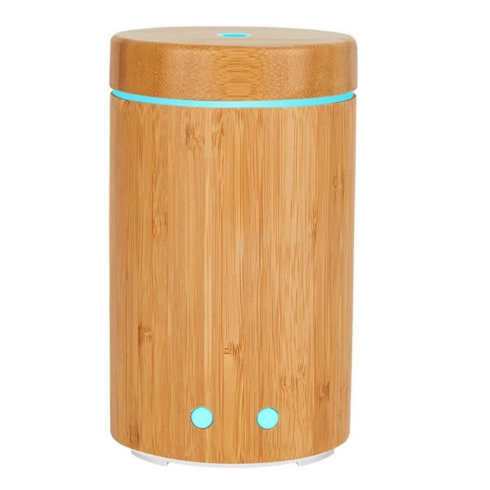 Pure Natural Bamboo Aroma Humidifier Essential Oil Aromatherapy Machine -16*10CM