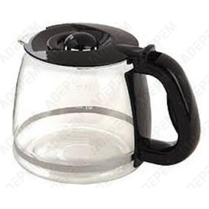 Verseuse deco noire pour Cafetiere Russell hobbs, Cafetiere Domo - 3665392026235