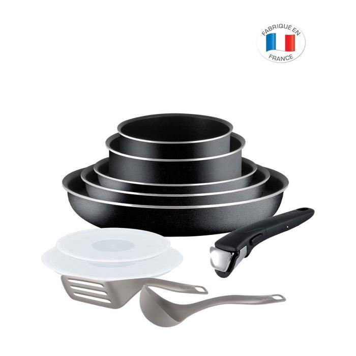 TEFAL INGENIO ESSENTIAL Batterie de cuisine 10 pièces L2009802 16/18/20/22/26
