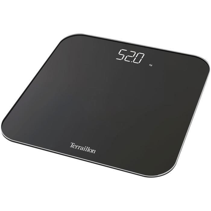 TERRAILLON Pèse-personne électronique 180kg / 100g USB - Noir