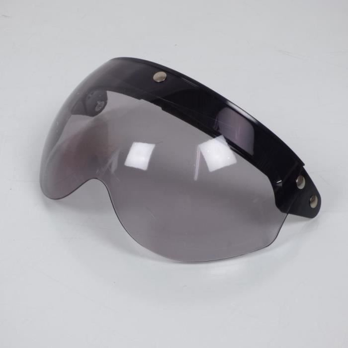 Ecran visière plat transparent relevable pression casque bol jet Torx Wyatt neuf