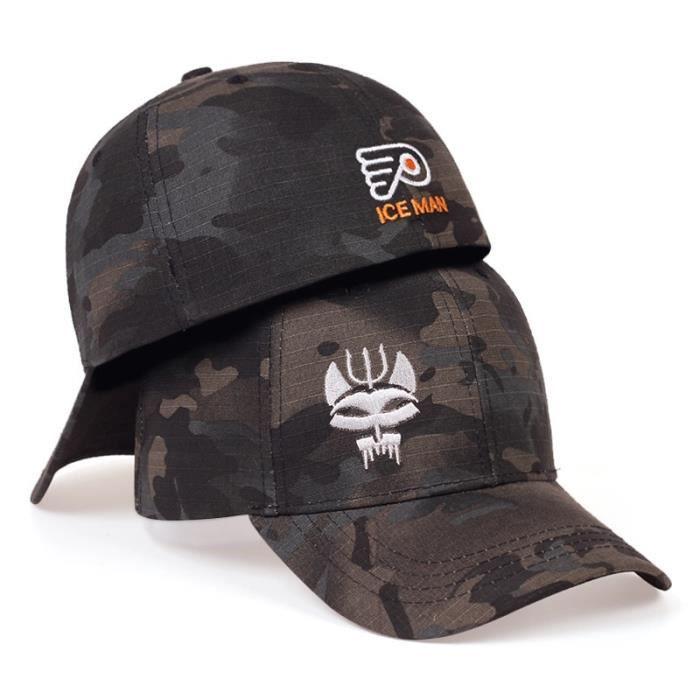 Black Camo -Casquette de Baseball pour hommes et femmes, Camouflage tactique, série USA Seal Team, Snapback, extensible, Hip Hop, ca