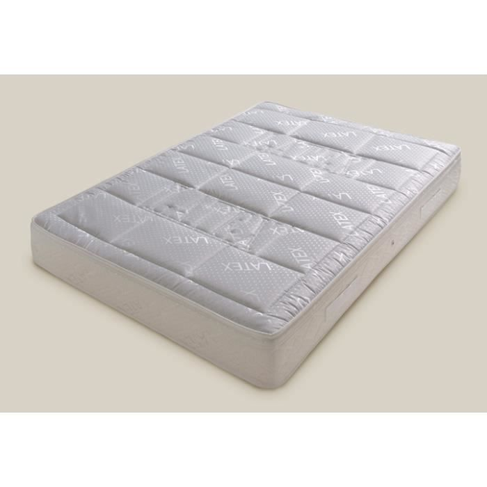 matelas latex ferme 140x190 achat vente matelas cdiscount. Black Bedroom Furniture Sets. Home Design Ideas