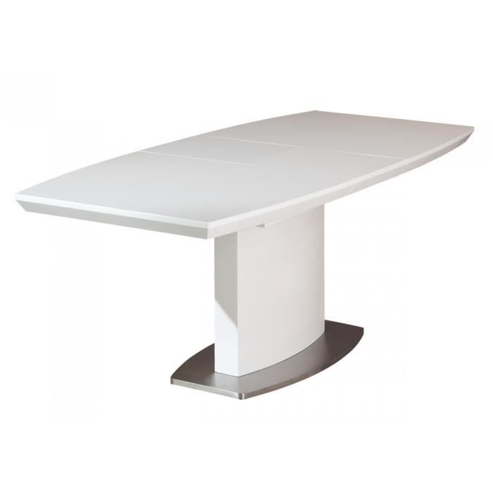 Irma table ovale avec allonge achat vente table a for Table ovale avec allonges